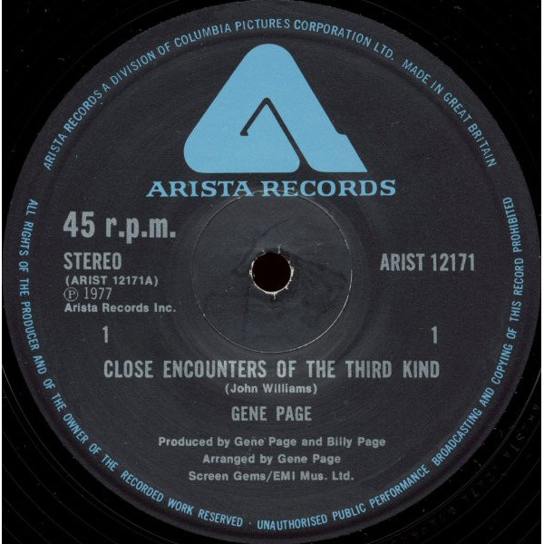 Gene Page - Close Encounters Of The Third Kind (12