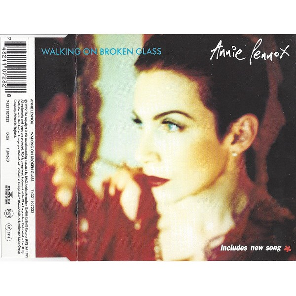 Annie Lennox - Walking On Broken Glass (CD, Single)