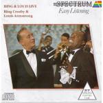 Bing Crosby & Louis Armstrong - Bing & Louis Live (CD, Album)