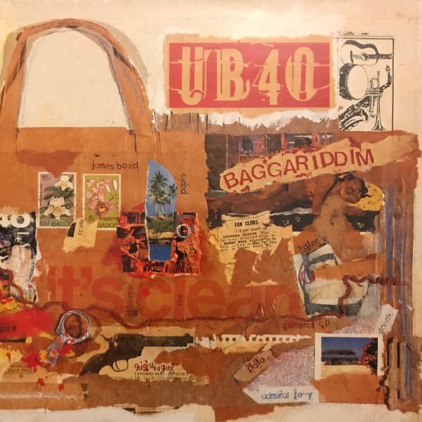 UB40 - BAGGARIDDIM (LP ALBUM GAT + 12'') - UB40 - Baggariddim (LP Album Gat + 12'') - LP