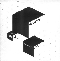 VARIOUS - ADVANCE! 2000.1 (CD PROMO SMPLR) - Various - Advance! 2000.1 (CD Promo Smplr) - CD