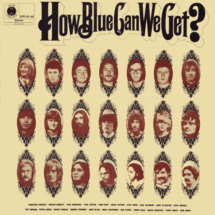 VARIOUS - HOW BLUE CAN WE GET? (2XLP COMP MONO) - Various - How Blue Can We Get? (2xLP Comp Mono) - LP x 2