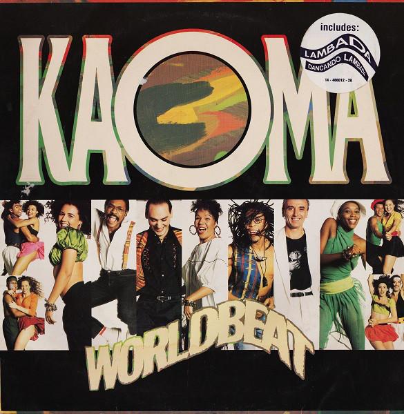 KAOMA - WORLDBEAT (LP ALBUM) - Kaoma - Worldbeat (LP Album) - LP