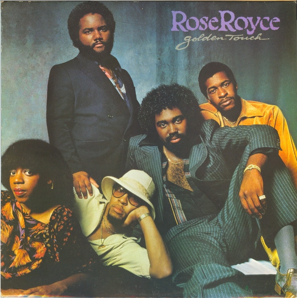 ROSE ROYCE - GOLDEN TOUCH (LP ALBUM) - Rose Royce - Golden Touch (LP Album) - LP
