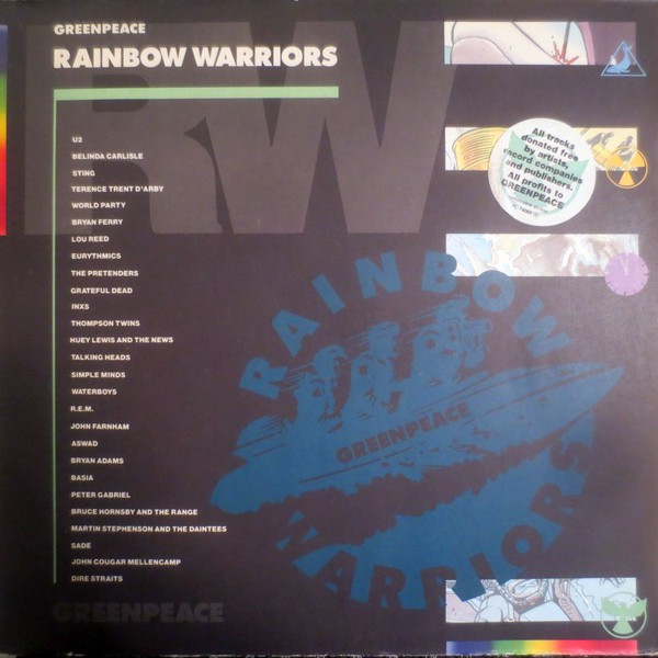 Warriors Of The Rainbow 2 Vietsub: GREENPEACE, 42 Vinyl Records & CDs Found On CDandLP
