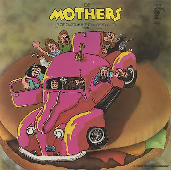 LAS MOTHERS* - JUST ANOTHER BAND FROM L.A. (LP ALB - Las Mothers* - Just Another Band From L.A. (LP Album) - LP