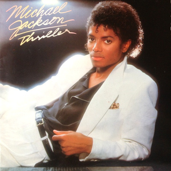Michael Jackson Thriller Lp Album Gat By Michael
