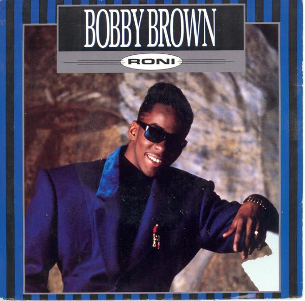 BOBBY BROWN - RONI (7'' SINGLE) - Bobby Brown - Roni (7'' Single) - 7inch x 1