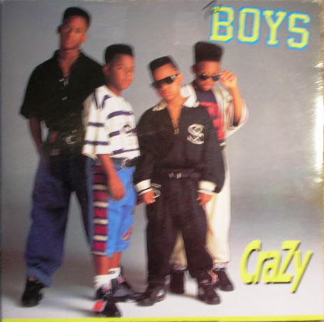 THE BOYS - CRAZY (7'') - The Boys - Crazy (7'') - 7inch x 1