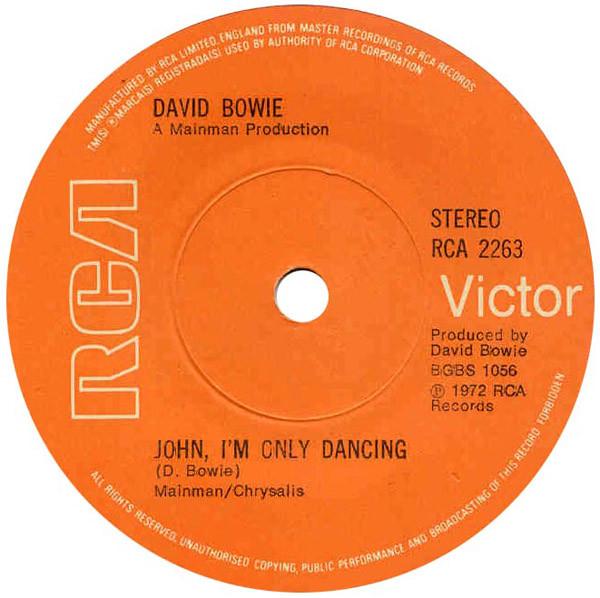 david bowie - john i'm only dancing (7'' single so david bowie - john i'm only dancing (7'' single sol)