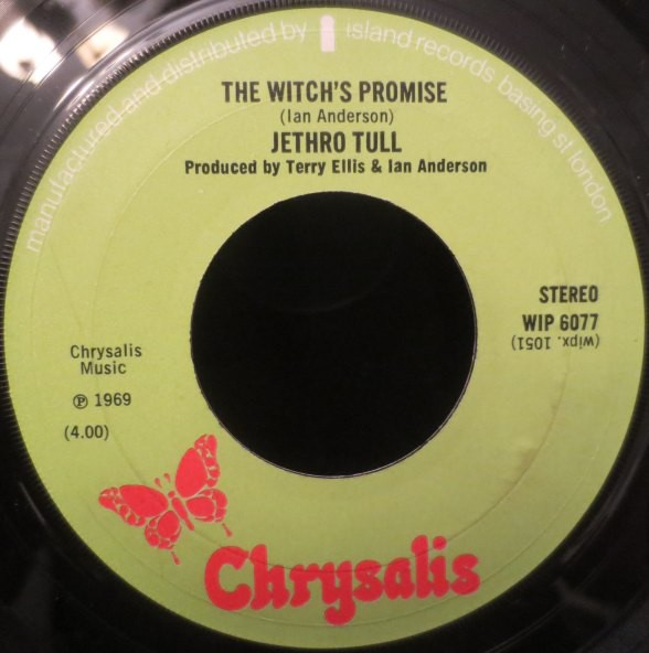 Jethro Tull - The Witch's Promise / Teacher