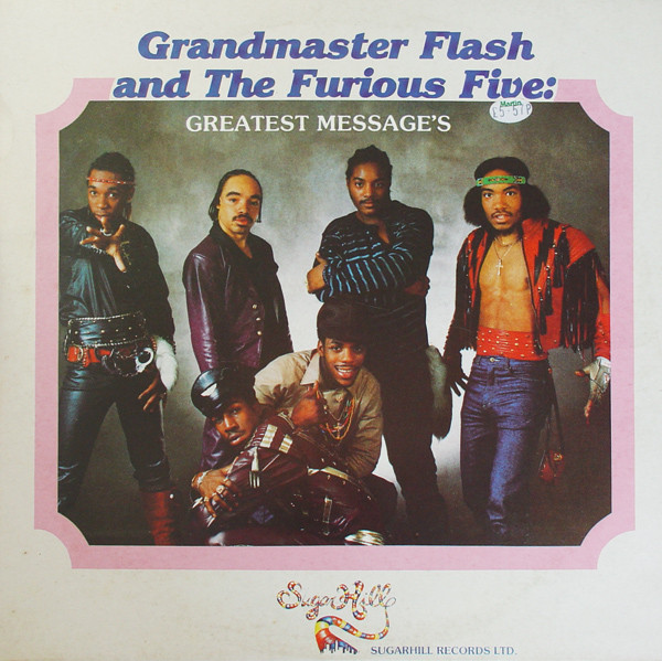GRANDMASTER FLASH & THE FURIOUS FIVE - GREATEST ME - Grandmaster Flash & The Furious Five - Greatest Messages (LP Comp) - LP