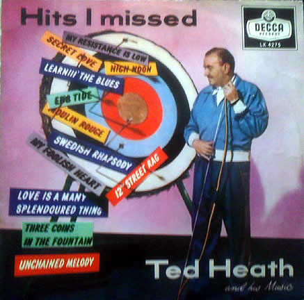 TED HEATH - HITS I MISSED (LP ALBUM MONO) - Ted Heath - Hits I Missed (LP Album Mono) - LP