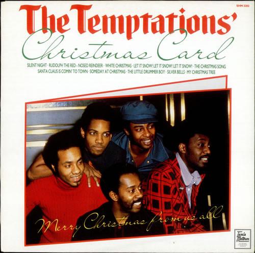 THE TEMPTATIONS - THE TEMPTATIONS' CHRISTMAS CARD  - The Temptations - The Temptations' Christmas Card (LP Album RE) - LP
