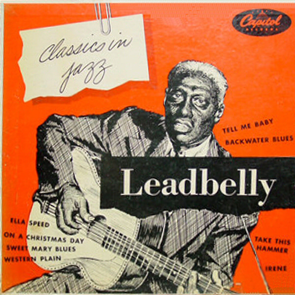 LEADBELLY - CLASSICS IN JAZZ (LP COMP RE) - Leadbelly - Classics In Jazz (LP Comp RE) - LP