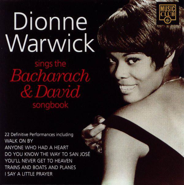 DIONNE WARWICK - DIONNE WARWICK SINGS THE BACHARAC - Dionne Warwick - Dionne Warwick Sings The Bacharach & David Songbook (CD Comp) - CD