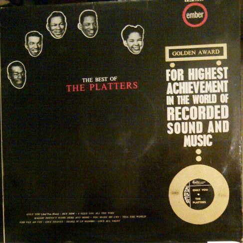 THE PLATTERS - THE BEST OF THE PLATTERS (LP COMP M - The Platters - The Best Of The Platters (LP Comp Mono) - LP