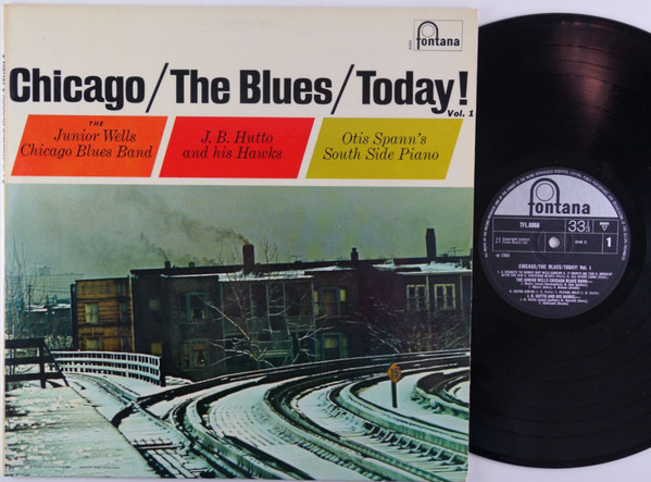 VARIOUS - CHICAGO/THE BLUES/TODAY! VOL. 1 (LP ALBU - Various - Chicago/The Blues/Today! Vol. 1 (LP Album Mono) - LP