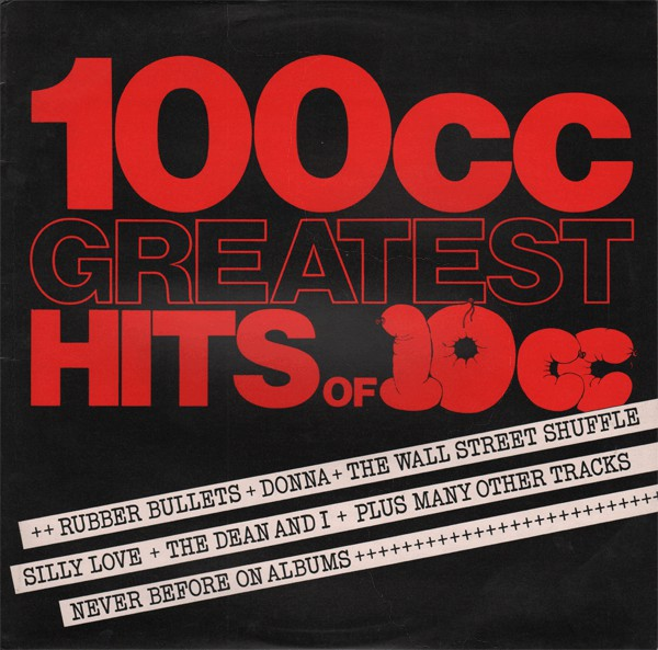 10cc - 100cc  greatest hits of 10cc (lp comp) 10cc - 100cc  greatest hits of 10cc (lp comp)
