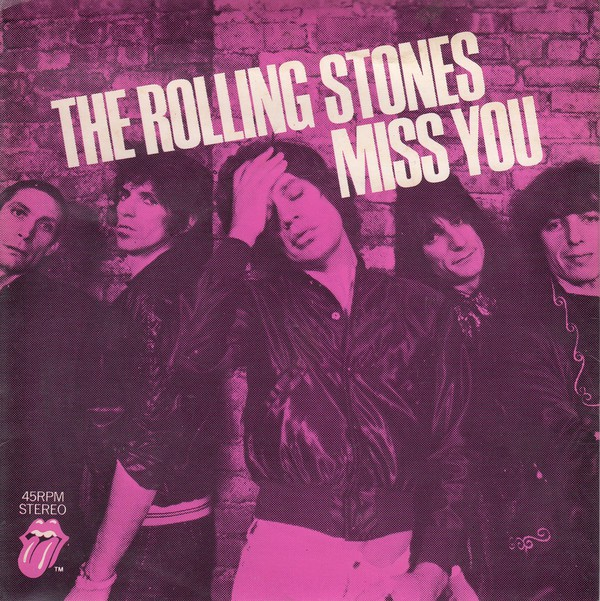 Rolling Stones - Miss You EP
