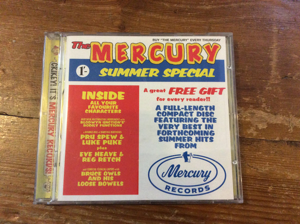 VARIOUS - THE MERCURY SUMMER SPECIAL (CD COMP PROM - Various - The Mercury Summer Special (CD Comp Promo) - CD