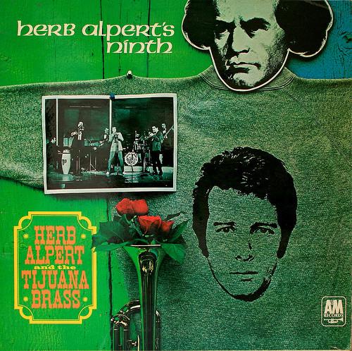 HERB ALPERT AND THE TIJUANA BRASS* - HERB ALPERT'S - Herb Alpert And The Tijuana Brass* - Herb Alpert's Ninth (LP Album) - LP