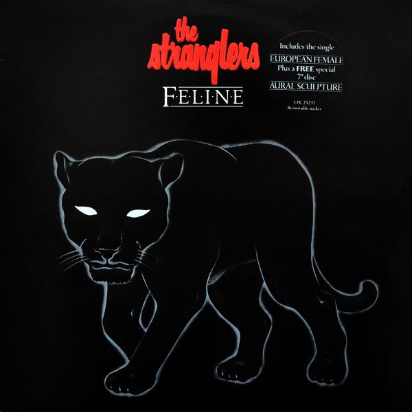 the stranglers - feline (lp album ltd + 7'' s/side the stranglers - feline