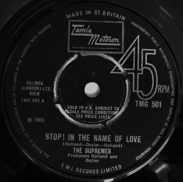 the supremes - stop! in the name of love (7'' sing the supremes - stop! in the name of love (7'' single)