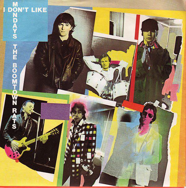Αποτέλεσμα εικόνας για 'I Don't Like Mondays' by The Boomtown Rats