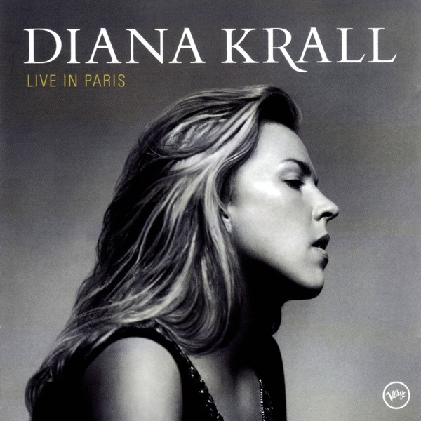 DIANA KRALL - LIVE IN PARIS (CD ALBUM) - Diana Krall - Live In Paris (CD Album) - CD