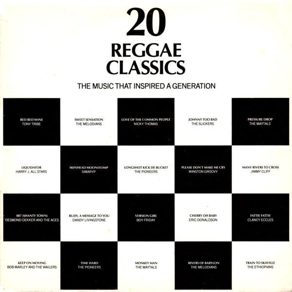 VARIOUS - 20 REGGAE CLASSICS (LP COMP) - Various - 20 Reggae Classics (LP Comp) - LP