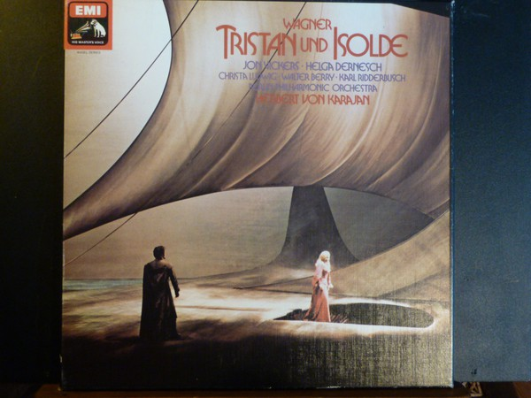 Richard Wagner - Jon Vickers \xC2\xB7 Helga Dernes - Tristan Und Isolde Record