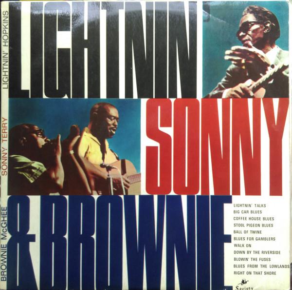 LIGHTNIN' HOPKINS / BROWNIE MCGHEE / SONNY TERRY - - Lightnin' Hopkins / Brownie McGhee / Sonny Terry - Lightnin' Sonny & Brownie (LP Album Mono) - LP