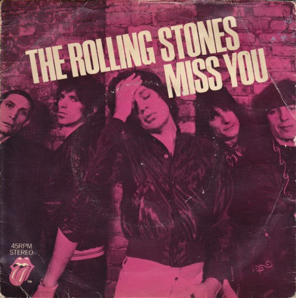Rolling Stones - Miss You Record