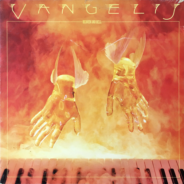 VANGELIS - HEAVEN AND HELL (LP ALBUM GAT) - Vangelis - Heaven And Hell (LP Album Gat) - 33T