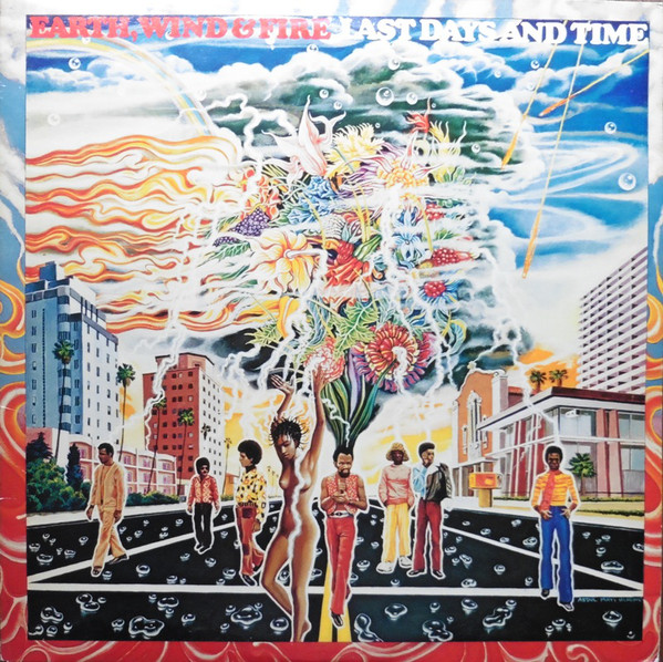EARTH WIND & FIRE - LAST DAYS AND TIME (LP ALBUM R - Earth Wind & Fire - Last Days And Time (LP Album RE) - LP