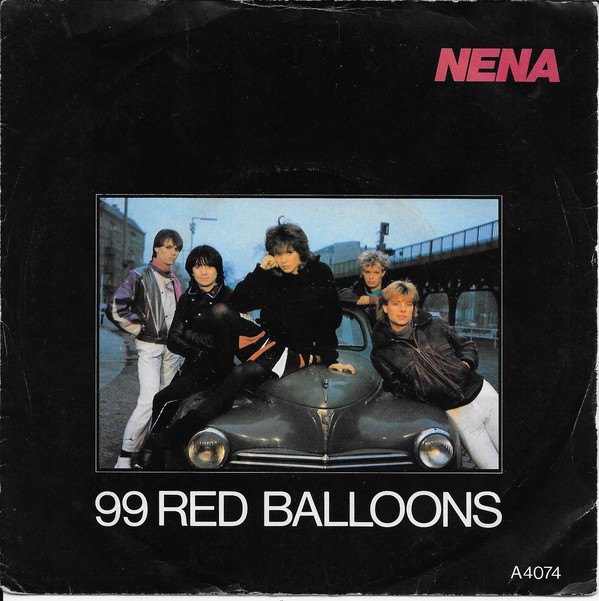 Nena - 99 Red Balloons Record