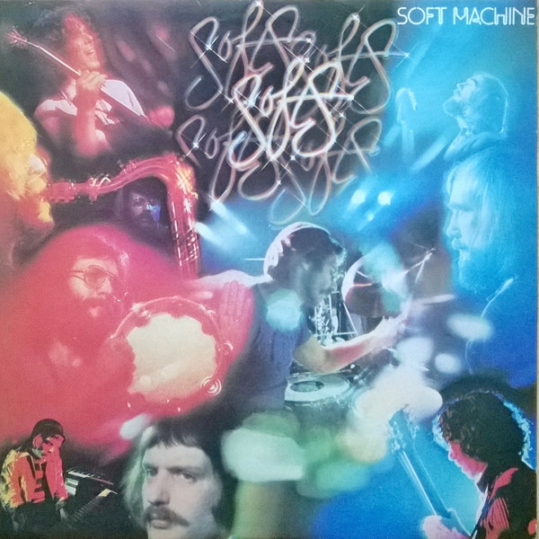 SOFT MACHINE - SOFTS (LP ALBUM) - Soft Machine - Softs (LP Album) - LP