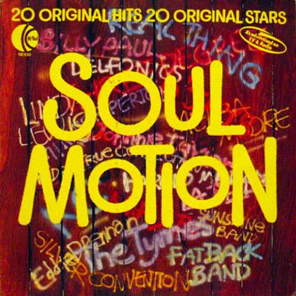 VARIOUS - SOUL MOTION (LP ALBUM COMP) - Various - Soul Motion (LP Album Comp) - LP