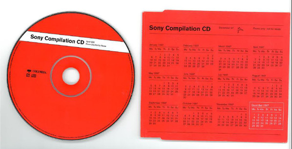 VARIOUS - SONY COMPILATION CD DECEMBER 97 (CD COMP - Various - Sony Compilation CD December 97 (CD Comp Promo) - CD