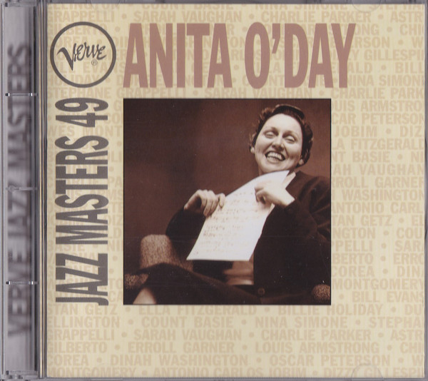 ANITA O'DAY - VERVE JAZZ MASTERS 49 (CD COMP) - Anita O'Day - Verve Jazz Masters 49 (CD Comp) - CD