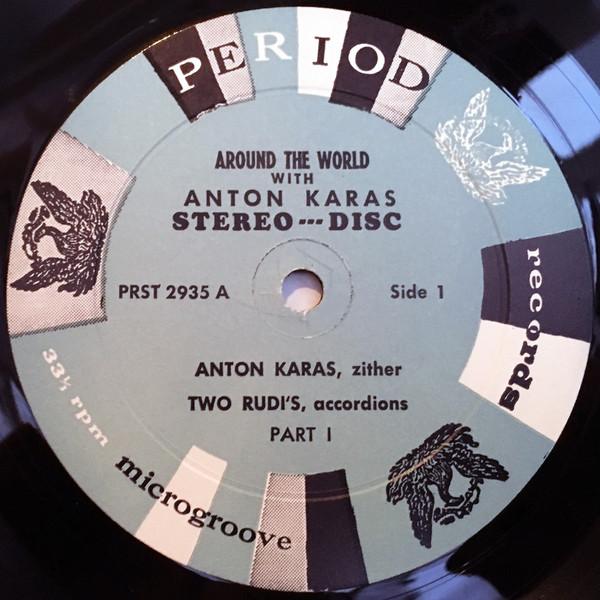 Anton Karas Two Rudi's - Around The World With Ant Anton Karas Two Rudi's - Around The World With Anton Karas (LP)