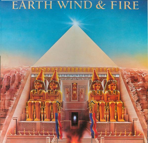 EARTH WIND & FIRE - ALL 'N ALL (LP ALBUM GAT) - Earth Wind & Fire - All 'N All (LP Album Gat) - LP